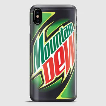Funny Mountain Dew iPhone X Case