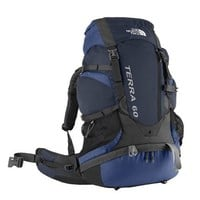 The North Face Terra 60 Backpack Atoll Blue Medium