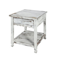 Berkshire Antique Finish 1-Drawer End Table