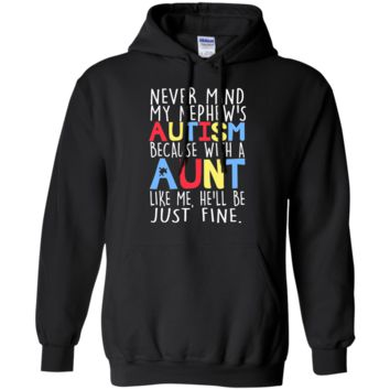 LIMITED EDITION - AUTISM AWARENESS Pullover Hoodie 8 oz.