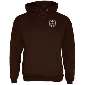 Graduation - Class of 2015 Laurel Brown Adult Hoodie