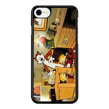 Calvin And Hobbes Surprise iPhone 8 Case