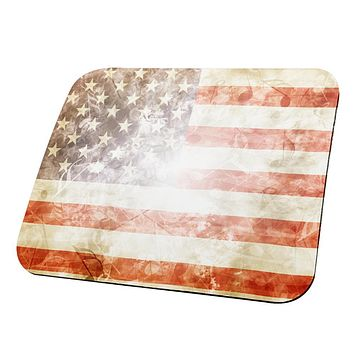 4th of July American Flag Star Spangled Banner All Over Mouse Pad