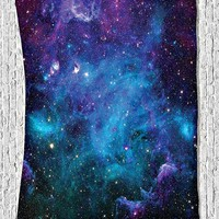 Lost In Space Fabric Wall Tapestry