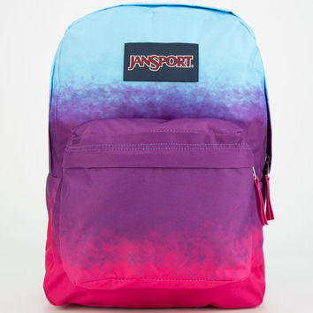 Jansport Superbreak Backpack Purple Night Ombre One Size For Women 24767395701