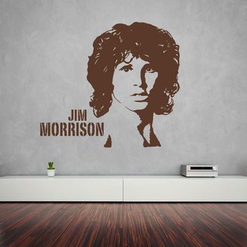 Jim Morrison Wall Decal