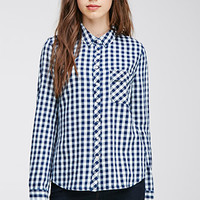 Gingham Pattern Shirt