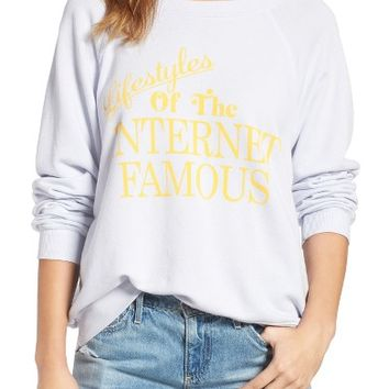 Wildfox Internet Famous Pullover   Nordstrom