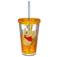 Disney Winnie the Pooh Tumbler with Straw | Disney Store