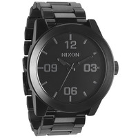 Nixon The Corporal Ss Watch All Black One Size For Men 19359317801