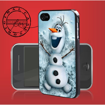 Olaf from Disney Frozen iPhone 4s iPhone 5 iPhone 5s iPhone 6 case, Samsung s3 Samsung s4 Samsung s5 note 3 note 4 case, Htc One Case