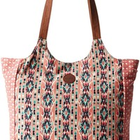 Roxy Lively Heart Shoulder Bag,Calypso Coral,One Size
