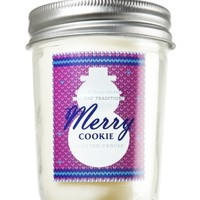 6 oz. Mason Jar Candle Merry Cookie