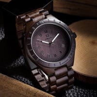 Classic Wooden Watch