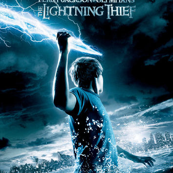 Percy Jackson & the Olympians: The Lightning Thief 27x40 Movie Poster (2010)