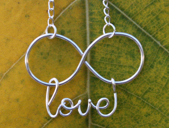 Infinity Love Necklace  Handmade Original and by FabulousWire