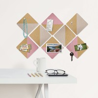 Square Cork Organizer Set