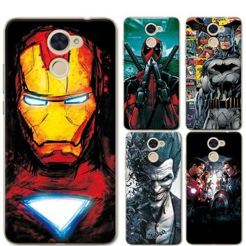 Deadpool Dead pool Taco For Huawei Y7 Prime Phone Cases Cover 5.5 inch Charming Marvel Avengers Captain America  Coque For Huawei Y7 Prime Funda AT_70_6