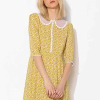 Little White Lies Celeste Babydoll Dress- Yellow