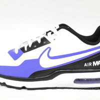 Nike Men's Air Max LTD 3 MOD White/Blue Running Shoes 801728 114