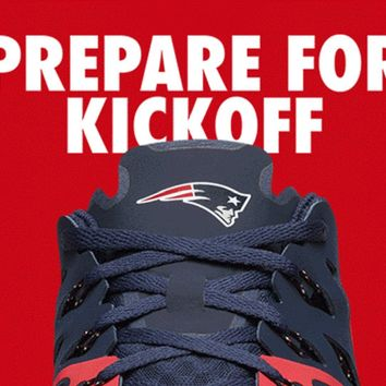 Patriots NFL Nike Kickoff Collection Speed 4 AMP Training Shoe