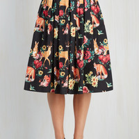 Aura and Fauna Skirt | Mod Retro Vintage Skirts | ModCloth.com