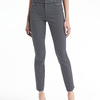 Sloan-Fit Stripe Bi-Stretch Pant | Banana Republic