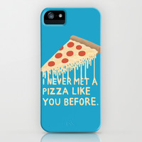 Sweet Pizza iPhone & iPod Case by Chase Kunz