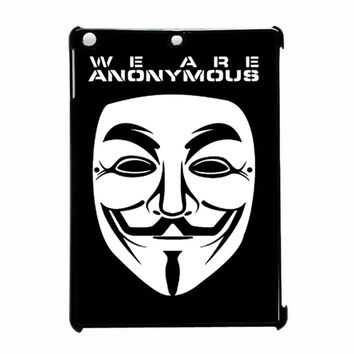 V Mask Guy Fawkes Anonymous iPad Air Case