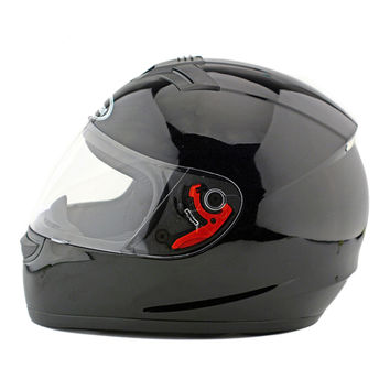 Motorcycle Motor Bike Scooter Safety Helmet 168   bright black