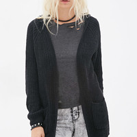Hooded Chenille Cardigan