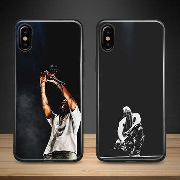 KANYE WEST rapper hiphop Soft Silicone Phone Case Cover Shell For Apple iPhone 5 5s Se 6 6s 7 8 Plus X XR XS MAX