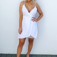 The Tassel Was Worth The Hassle Dress: White