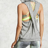 Active Sleeveless Hooded Top