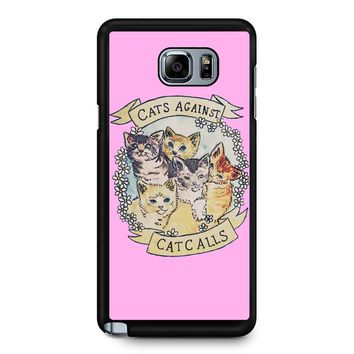 Cats Against Cat Calls Samsung Galaxy Note 5 Case