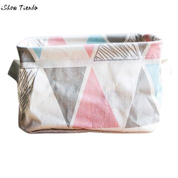 Foldable 5 Colors Storage Bin Closet Toy Box Container Organizer Fabric Basket clothing holder good quality