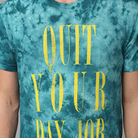 Junk Food Quit Ur Day Job Tee