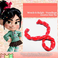 Wreck it Ralph Vanellope's Licorice Hair Tie