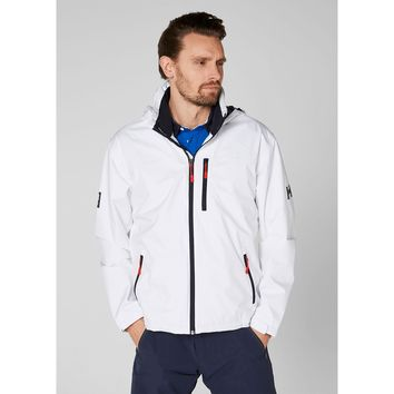 Helly Hansen Men's CREW HOODED JACKET in White