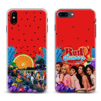 Red Velvet Kpop  Girl group Coque Phone Case For Apple iPhone X 8Plus 8 7Plus 7 6sPlus 6s 6Plus 6 5 5S SE Cover Shell
