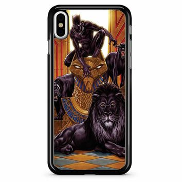 Black Panther 4 iPhone X Case