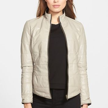 Women's LaMarque Reversible Packable Leather Jacket
