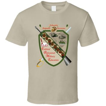 USMC - Enlisted Professional Military Education T Shirt