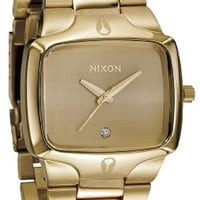 Nixon The Player Men's Watch - Gold/Gold:Amazon:Watches