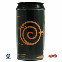 10oz Naruto Shippuden OFFICIAL PREMIUM Travel Can NOVELTY GIFT