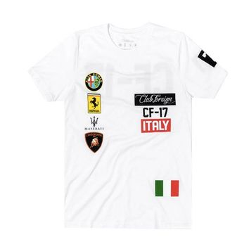 ONETOW Club Foreign Italy T-Shirt in White