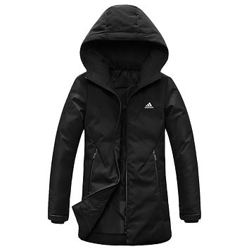 ADIDAS 2018 winter new women's women's outdoor casual sports jacket vest down jacket Black
