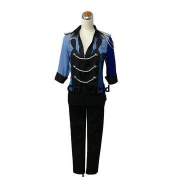 YURI!!! on ICE Katsuki Yuri Skating Suit Coat Jacket T-shirt Tops Pants Uniform Swallowtail Outfit Anime Cosplay Costumes