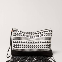 AEO Embroidered Wristlet | American Eagle Outfitters