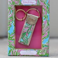 Lilly Pulitzer Key Fob: In The Bungalows